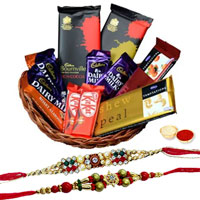 Sweetness of Celebration Rakhi Hamper