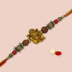 Attractive Auspicious Rakhi for Brother